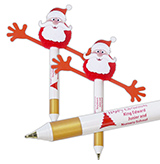 Christmas 2019 Santa Gripper Pen
