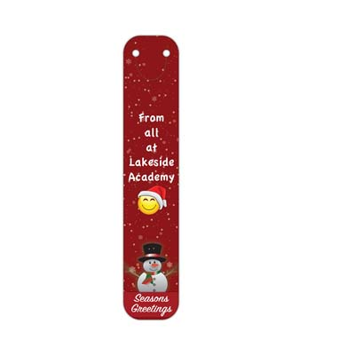 Christmas 2017 Full Colour Clip on Bookmarks