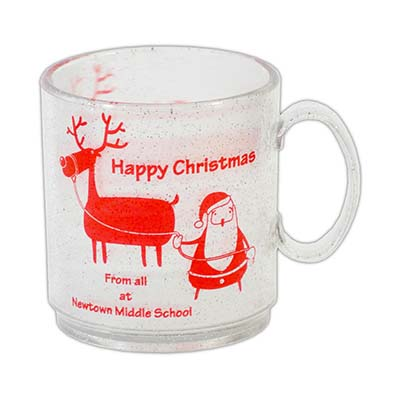 Christmas Glitter Mug 2018