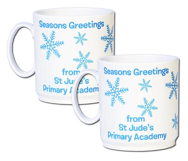 Christmas 2019 Plastic White Mug