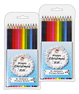 Christmas 2020 Large Coloured Pencils