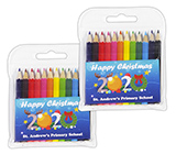 Christmas 2020 Small Coloured Pencils