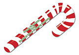 Christmas 2021 Candy Cane Bookmark