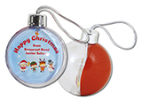 Christmas 2021 Round Tree Baubles