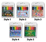 Christmas 2021 Small Coloured Pencils