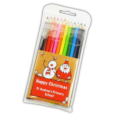 X PE6209 15 - Christmas 2015 Large Coloured Pencils