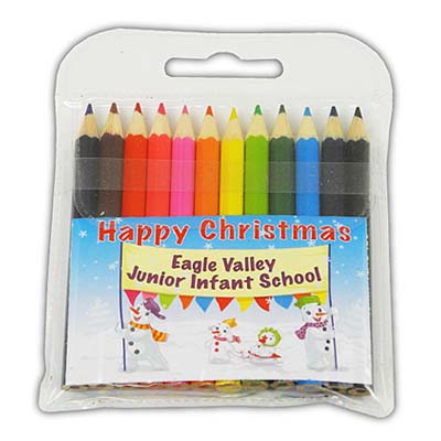 X PE6209 S15 - Christmas 2015 Small Coloured Pencils