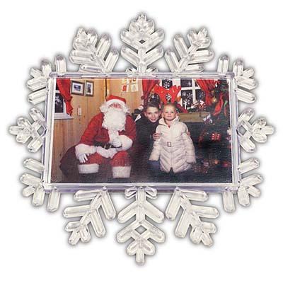 Christmas 2015 Snowflake Magnetic Frame